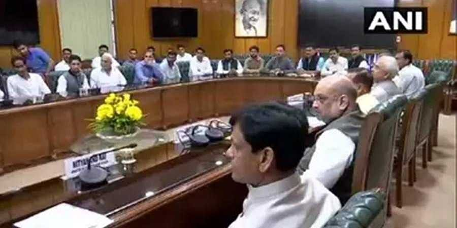 Delegation met union home minister Amit Shah