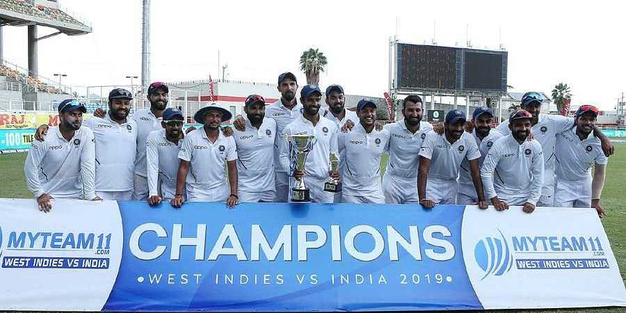India top of ICC World Test Championship points table
