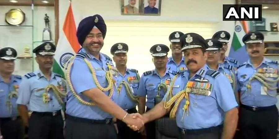 Air Chief Marshal Rakesh Kumar Bhadauria takes charge as new IAF chief