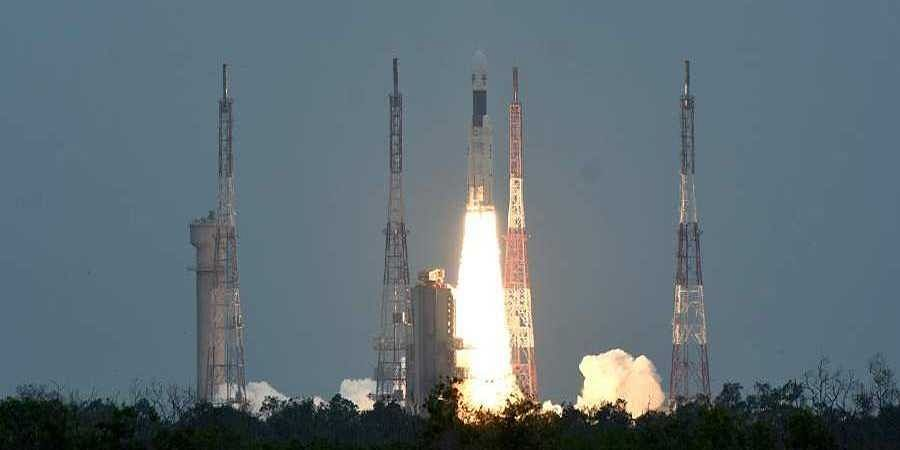 Chandrayaan-2 launch from Satish Dhawan Space Research center in Sriharikota.