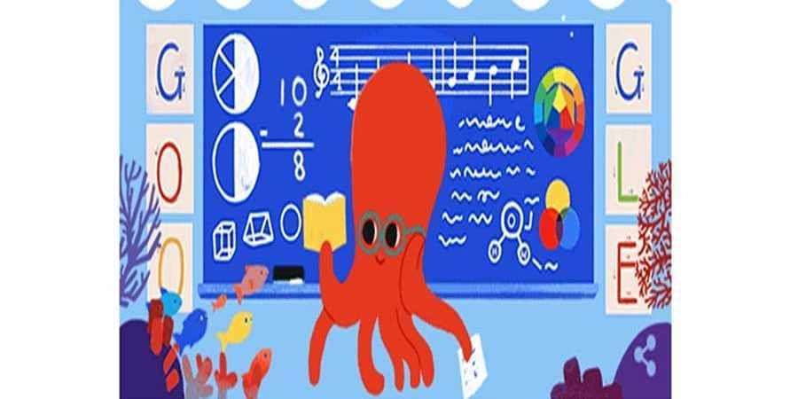 Google Dedicates Doodle to Educators as India Celebrates Teachers' Day
