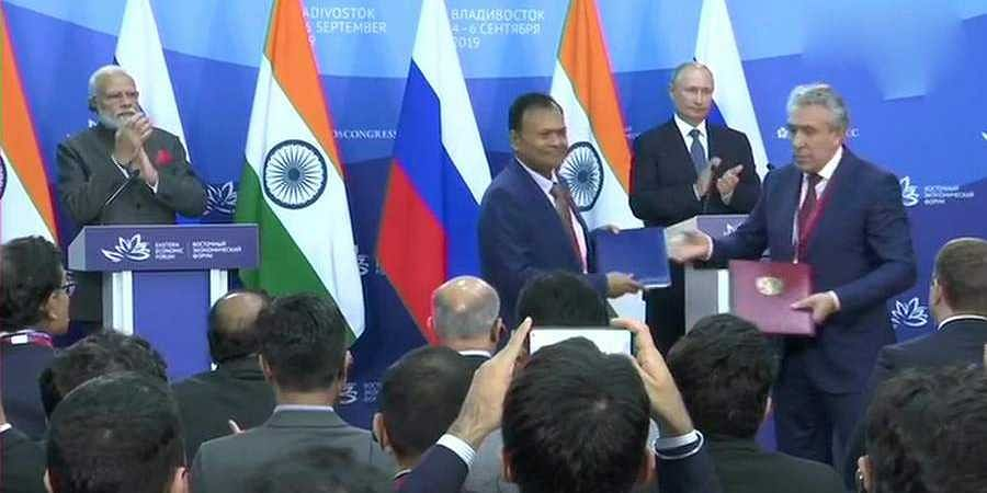 PM Modi, President Putin signs
