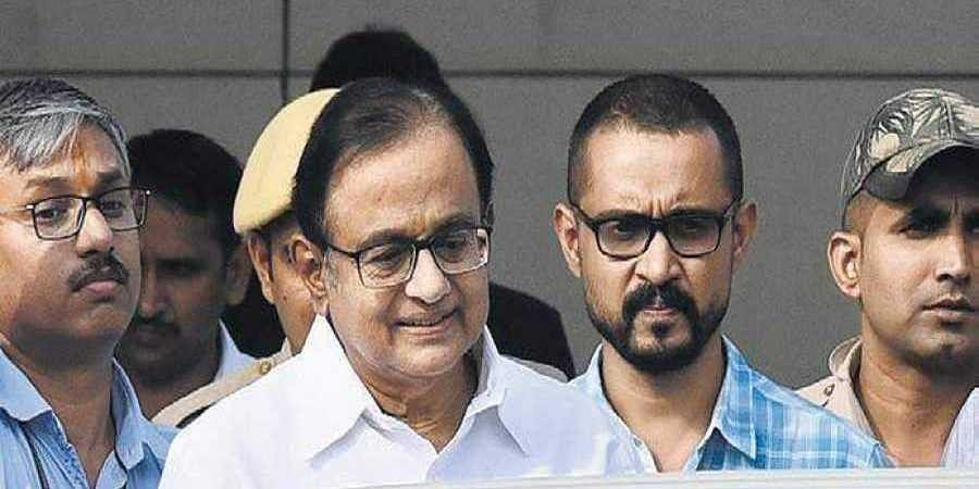 P Chidambaram produced at a Delhi court in connection with INX Media case.