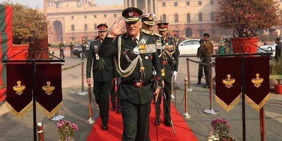 Gen.Bipin Rawat took charge as CDS