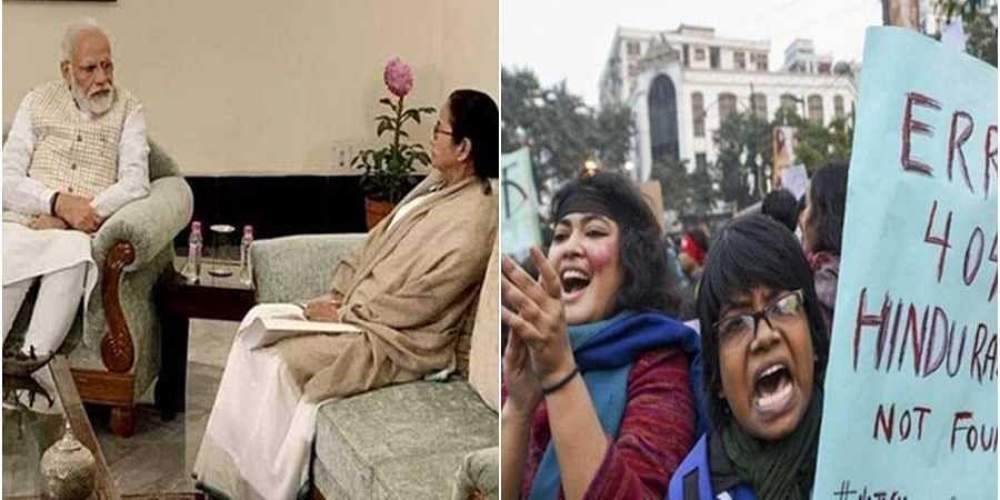 PM Modi-Mamata