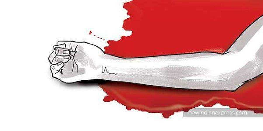 UP man arrested for murdering pregnant wife, chopping and burning her corpse