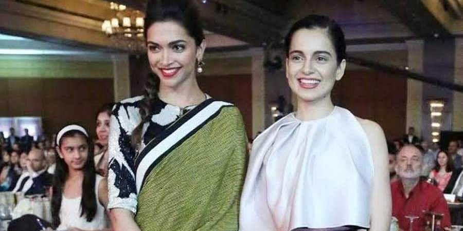 Deepika and kangana
