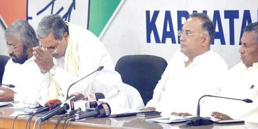 Funds, candidates and 4 leaders: Siddaramaiah tells AICC why Cong lost bypolls