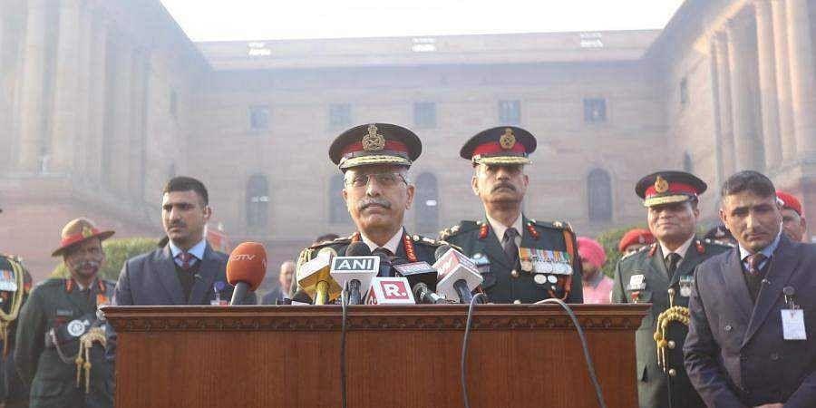 Indian Army Chief MM Naravane