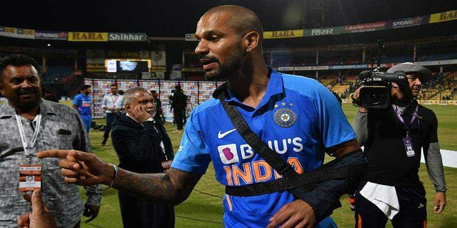 Shoulder injury rules Shikhar Dhawan out of New Zealand T20Is