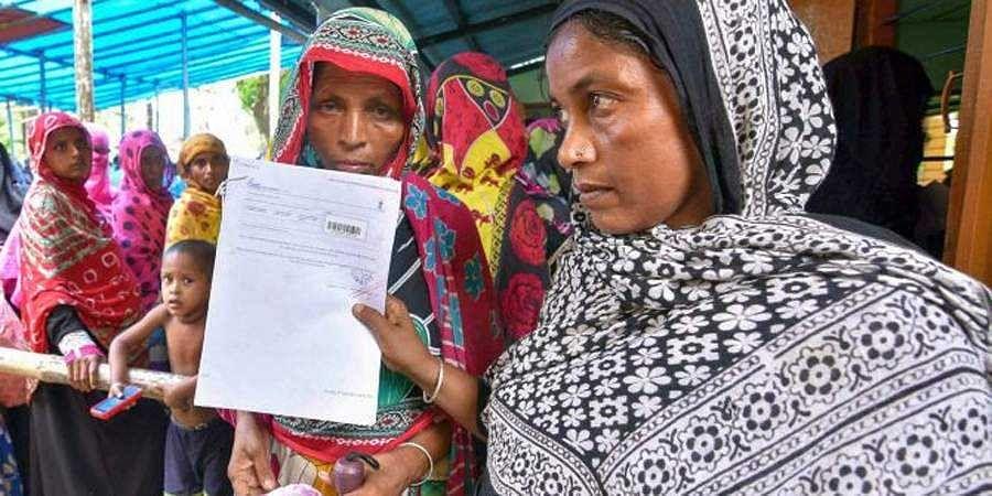 Bangladeshis returned from India