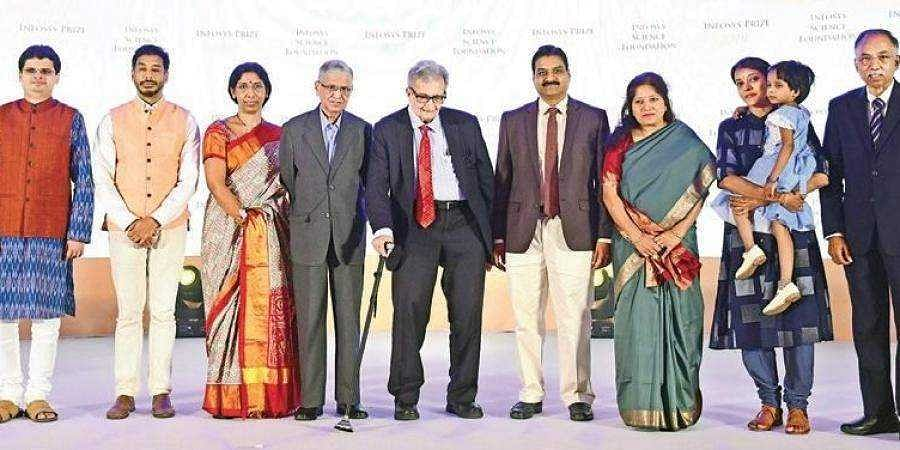 Six achievers awarded the Infosys Prize 2019