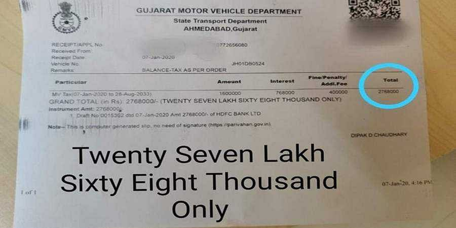 Porsche owner pays Rs 27.68 lakh to get back his impounded luxury car from Ahmedabad traffic cops
