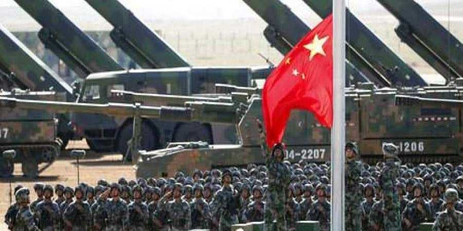 The Chinese army