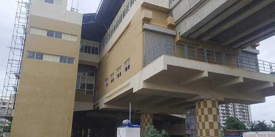 Vajrahalli metro station