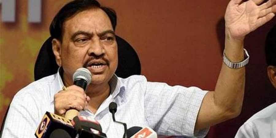 Maharashtra minister Eknath Khadse resigns