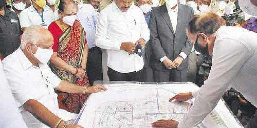 Chief Minister BS Yediyurappa at Shikaripura