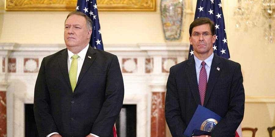 India-US 2+2 talks: China, COVID-19 on Pompeo, Esper agenda for New Delhi trip