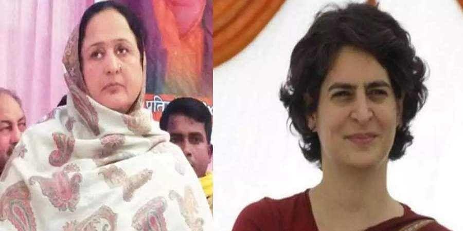 BJP MLA seeks Priyanka's help in punishing Mukhtar Ansari