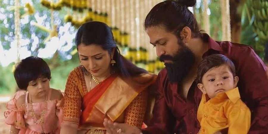 Radhika and Yash with children