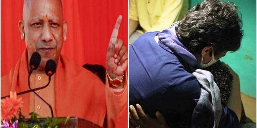 CM Yogi-Priyanka
