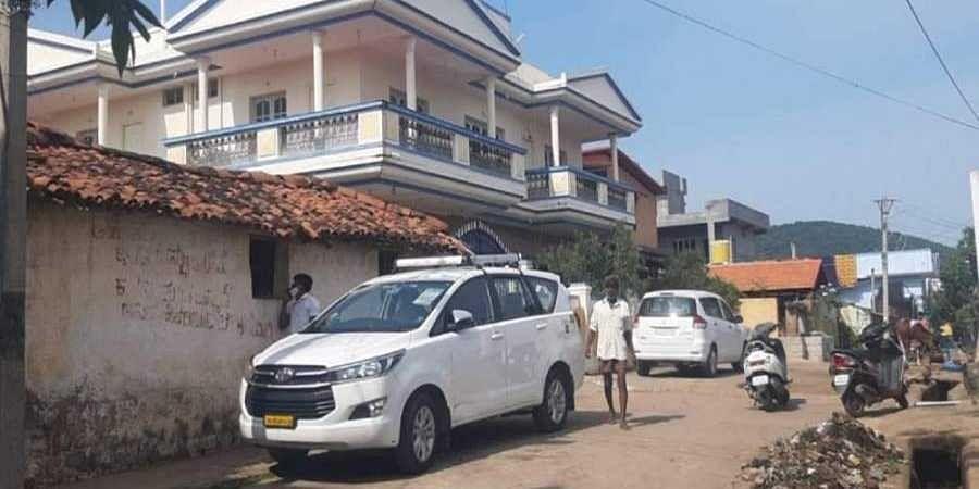 The raids were conducted at their residence in their village at Dodda Alahalli, Kanakapura taluk in Ramanagar and also at Sadashivanagar in Bengaluru