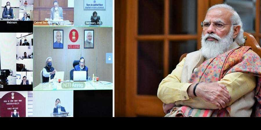 PM Modi reviews India's COVID vaccination progress with officials through video conferencing
