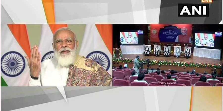 PM Modi speaking