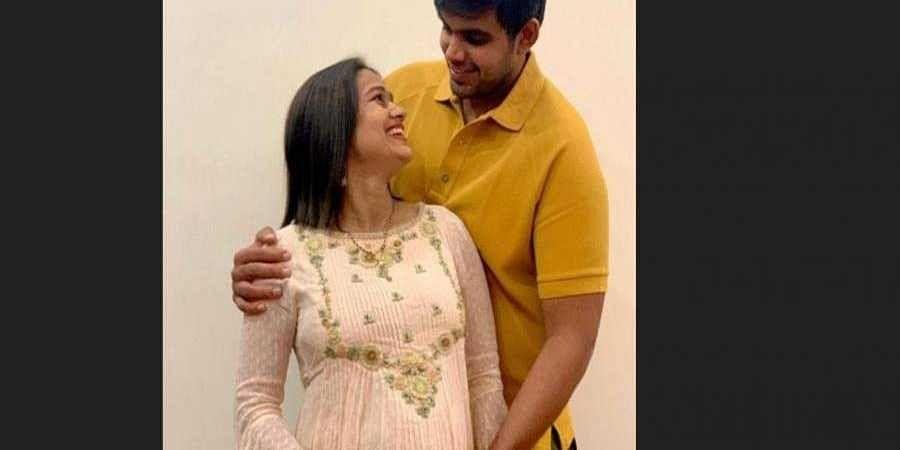 Babita Phogat and her husband Vivek Suhag