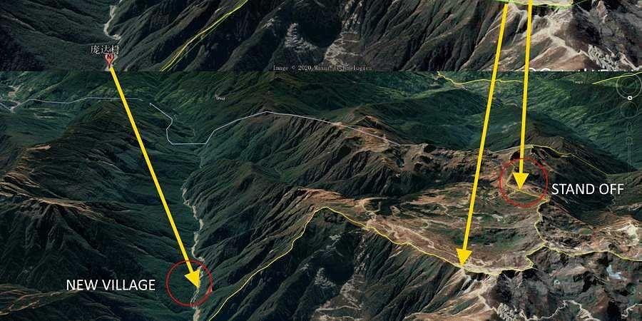 China Sets Up Village Within Bhutan