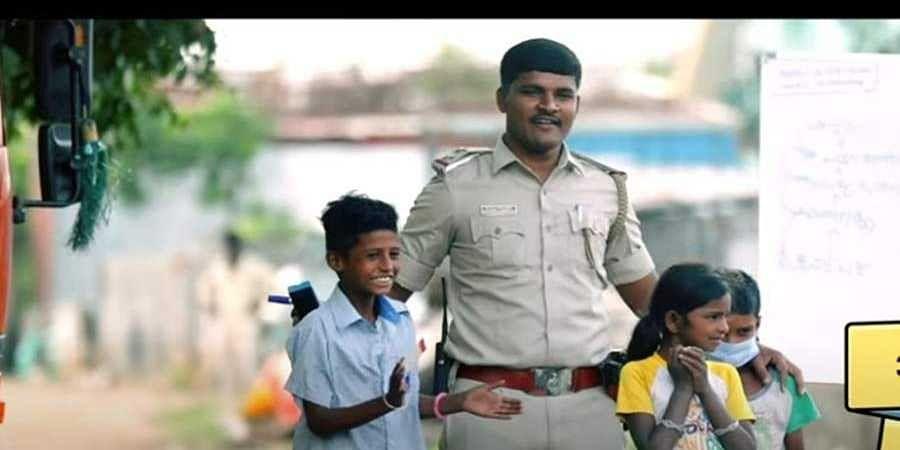 SI Shantappa with children