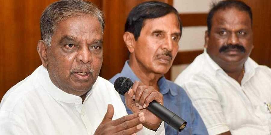 Veteran BJP MP V Srinivasa Prasad