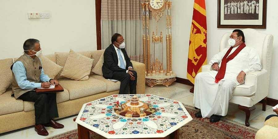 NSA Ajit Doval meets Sri Lankan PM Mahinda Rajapaksa, talks on bilateral ties with defence secretary