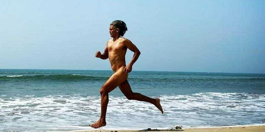 Milind Soman runs naked on the beach on his 55th birthday