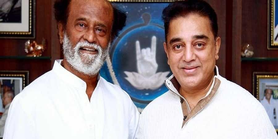 Kamal Hassan and Rajanikanth(File photo)