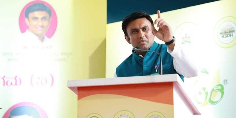 Minister Sudhakar