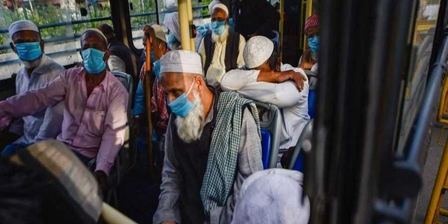 The Tablighi Jamaat members had attended a religious congregation at Nizamuddin in Delhi against the social distancing protocol amid the coronavirus outbreak