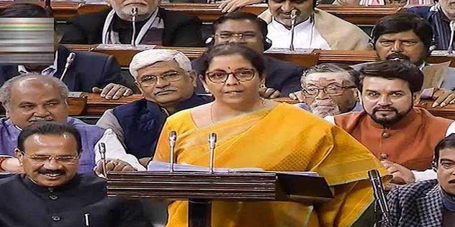 Sitharaman cuts short Budget speech after feeling unwell