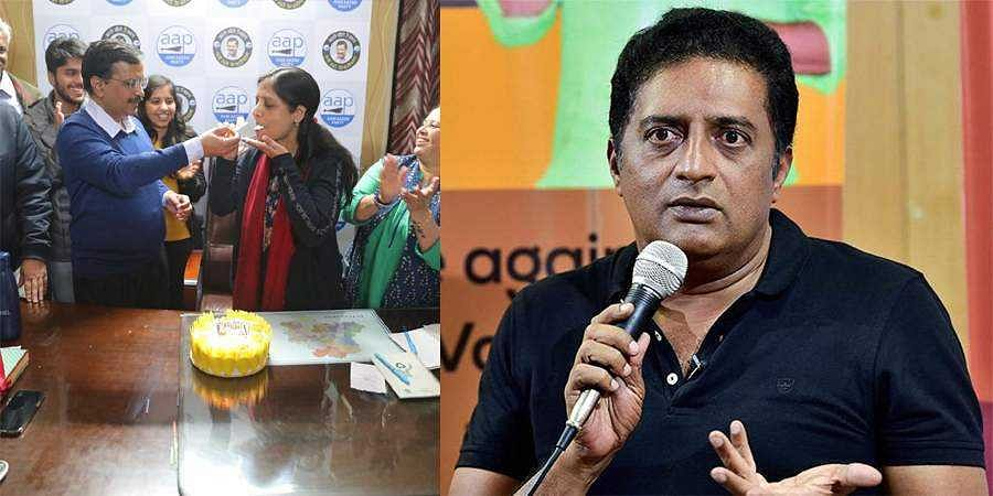 Actor Prakash raj hits back at BJP