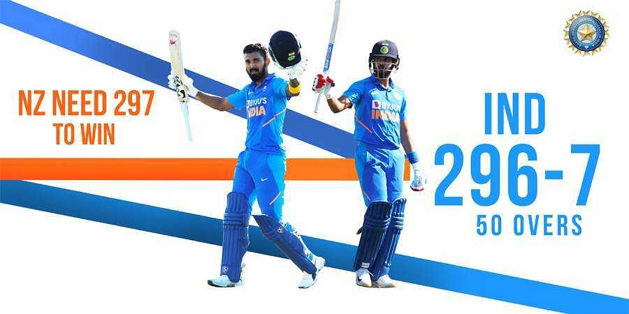3rd ODI: Newzealand to chase 297 runs against India