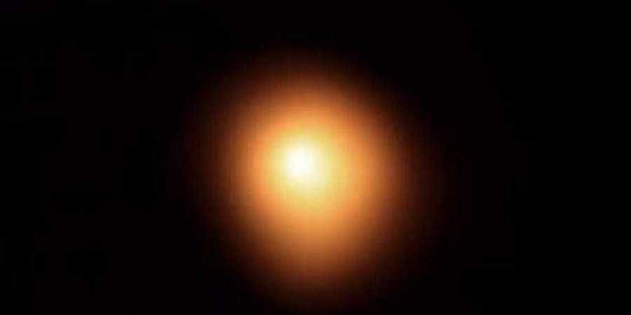 This image shows the star Betelgeuse.