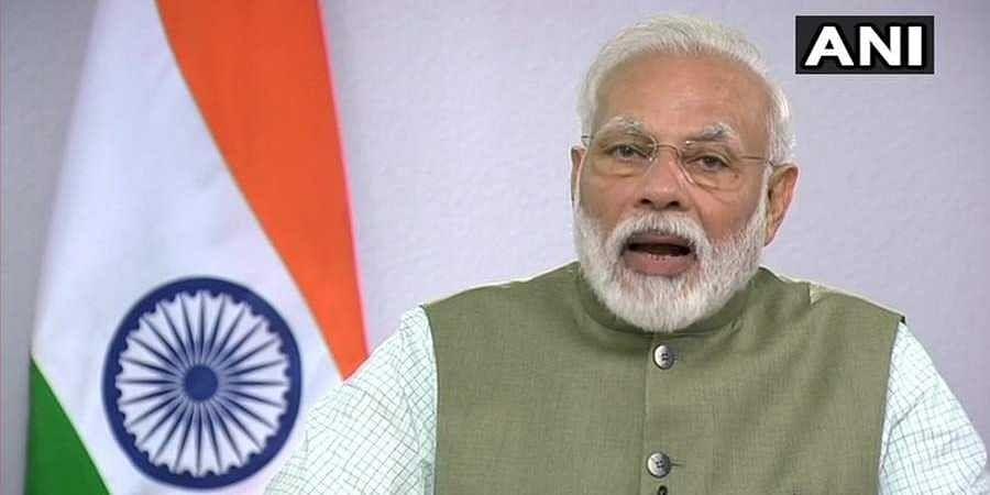 PM Modi spoke through video conference