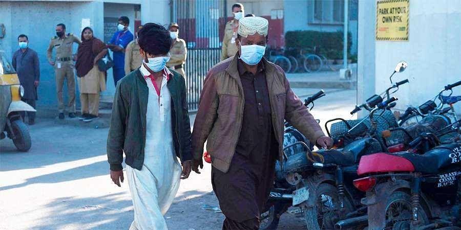 toxic gas in Karachi's Keamari port