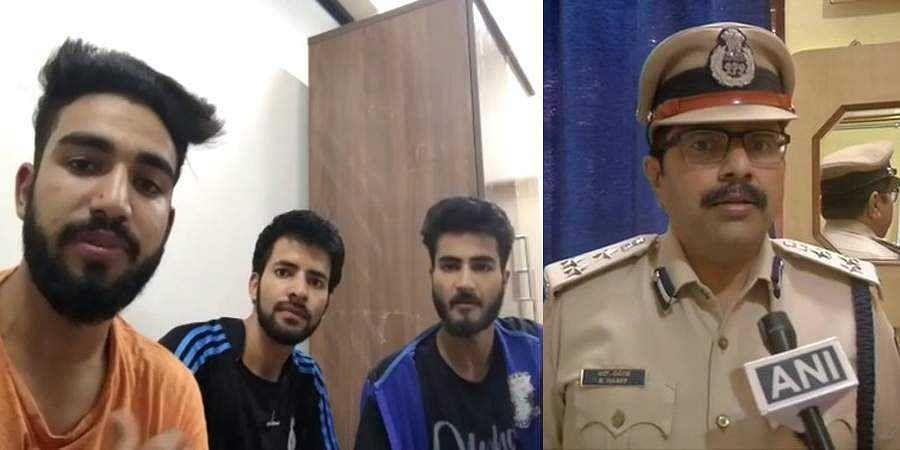 Kashmiri students  arrested