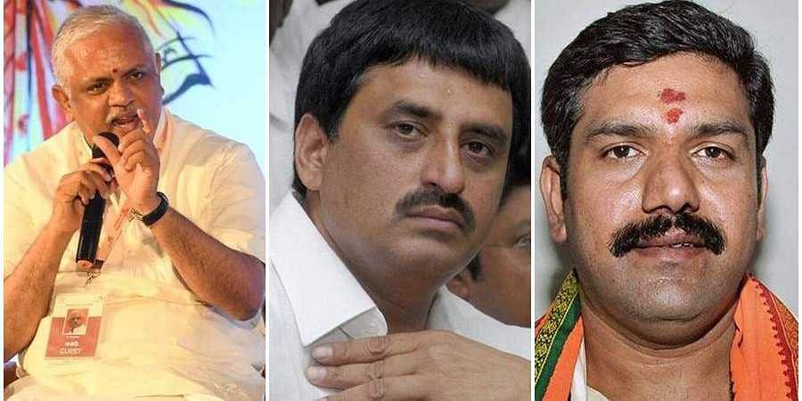 BJP MLas meets BL santhosh