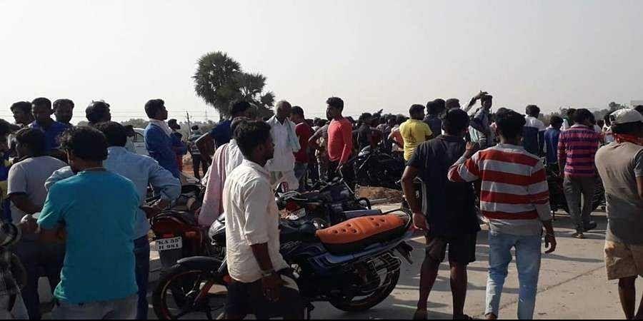 Ballari: Bike rider dies in road accident