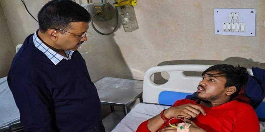 Stop this madness, says Kejriwal after visiting injured at hospital
