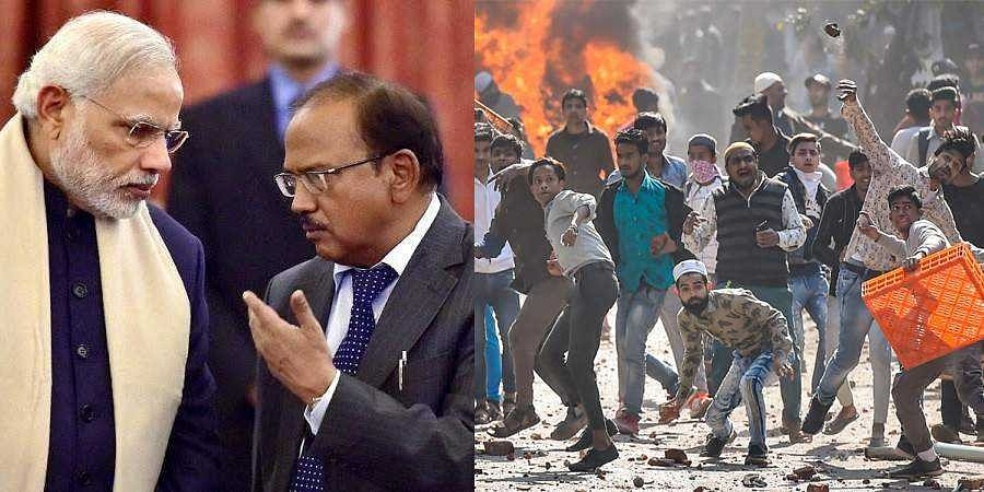 Ajit Doval given charge to bring Delhi violence under control
