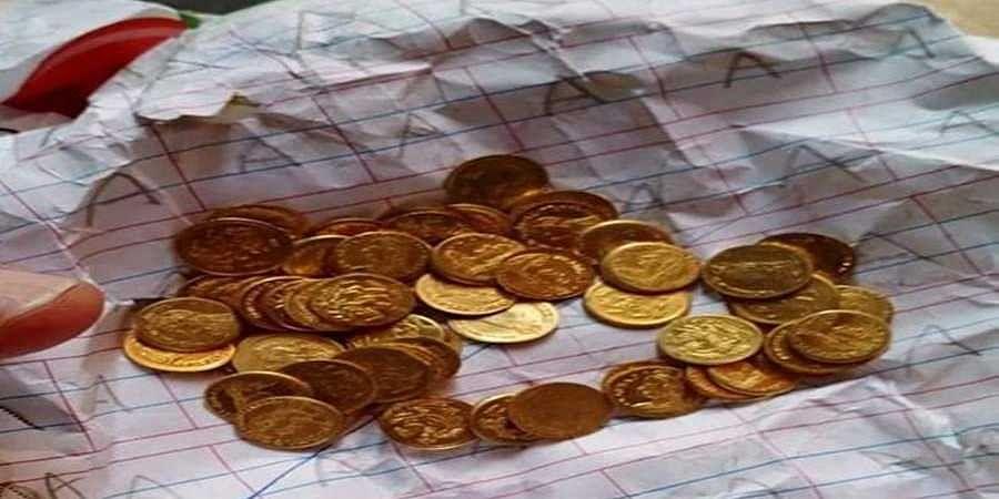 fake gold coins