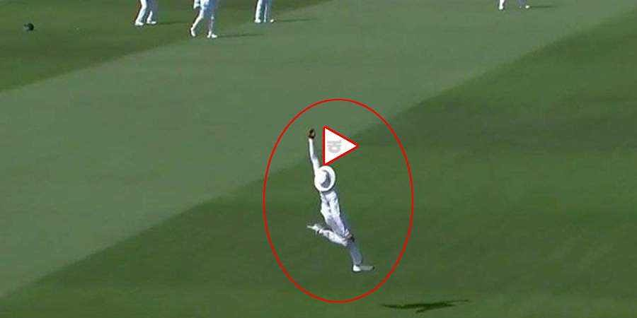 One Of The Greatest Catches Of All Time As Ravindra Jadeja Pulls Off Stunner